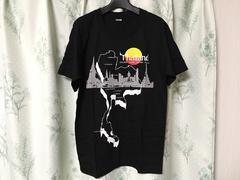 新品未使用タイバンコク購入タイランド柄半袖Tシャツ黒ブラック