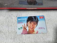 テレカ 50度数 酒井法子 ノリピー 渚のファンタシィ '87 フリー110#25662 未使用
