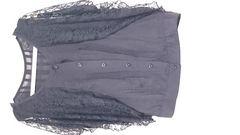 新品未使用 ドルマン袖シックな袖レースのカットソー