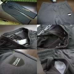 送料込(L灰)Kappaカッパ スウェットパンツ 裾ファスナー KF452TP24