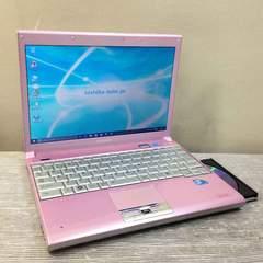 ピンクのダイナブック!DVDマルチWin10