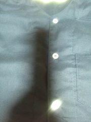 ☆新品=紺×無地=ダボシャツ140