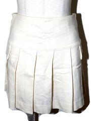 PROFILE プロフィール プリーツスカート オフホワイト
