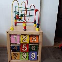 木製 パズル 知育玩具 知育 数字