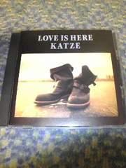 CD:KATZE(カッツェ)LOVE IS HERE 帯無し