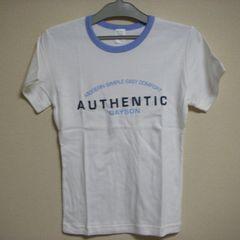 未使用 ロゴ ストレッチ半袖 Tシャツ M