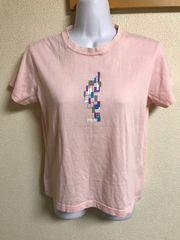 ★FILA ピンク×Tシャツ  L★