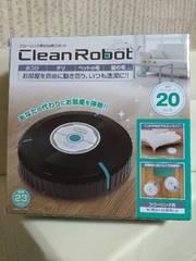 フローリング用掃除ロボット クリーンロボット(黒)