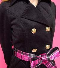 MARSりぼんバックルおりぼんモッサコート黒ブーツベルトSET美品