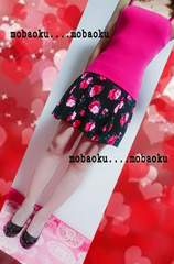 お花柄スカート