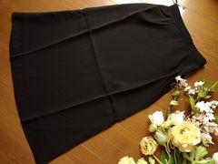 新品 TAPGUARD 黒マキシ丈 スカート ロング L 70