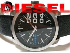 良品 1スタ★DIESEL ディーゼル インパクト強★大型メンズ腕時計