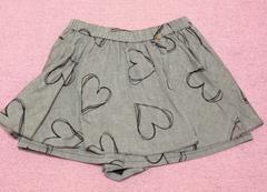 MILK☆ペイントハートスカートパンツ