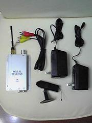 新品!小型充電式カラー防犯カメラ (フルセット)