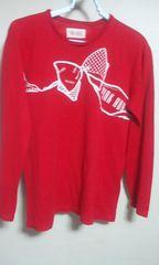 ピンクハウス 長袖Tシャツ 赤