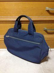 ポーター ハンドバッグ トート 手持ち鞄 キャンバス ネイビー紺色 日本製 吉田鞄