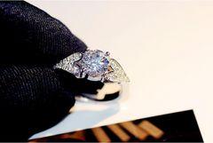 1円〜指輪/高級/フリーサイズ リング/14号〜22号/4.0ct ダイヤ