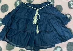 キュロット スカート