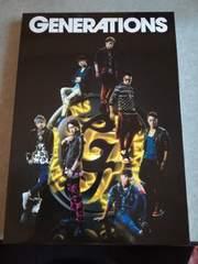 GENERATIONS1stアルバム初回限定仕様CD&DVD