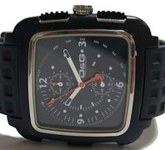 極希少 ドルチェ&ガッバーナ/D&G クロノグラフ All BK 腕時計