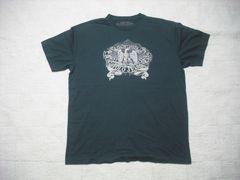73 男 ラルフローレン ポロジーンズ 黒 半袖Tシャツ L