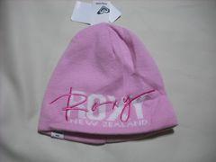 wb279 ROXY ロキシー ニット帽 ピンク