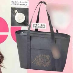 非売品付録・リサラーソンハリネズミキャラクター柄トートバッグ