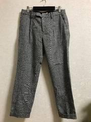 【美品】今季大人気!グレンチェック裾折りパンツ