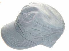 新品ギャレットつば付き帽子グリーン綿ワークキャップ緑