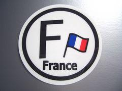 ○フランスビークルID国識別国旗ステッカー/ルノー