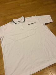 Arakai  カノコ半袖ポロシャツ  白黒  sizeXXXL→3XL
