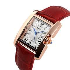 【バカ売れ☆】腕時計 レディース  黒ベルト 四角形 革