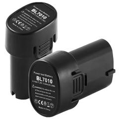 7.2v バッテリー マキタ互換バッテリーbl7010