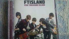激安!激レア☆FTISLAND/FIVE TREASUREISLAND☆初回盤A/CD+DVD/美品