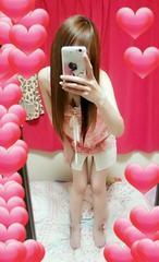 ピンク花柄リボン☆可愛いシフォンキャミワンピ☆(///ω///)♪