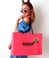 新品ANAP☆L ロゴ ギフトラッピング セット ショップ袋 アナップ