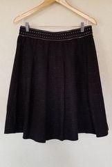 大きいサイズ ラメツィードスカート