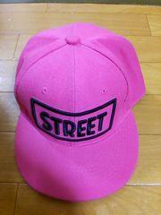 新品 キャップ 帽子 ピンク ストリート系 クラブ
