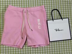 新品 ロンハーマン RHC スウェットショーツ Sサイズ ピンク