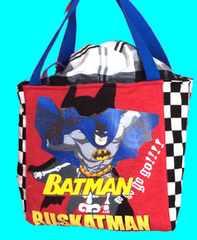 ♪★保冷できるランチバッグ★バットマン