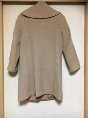 50スタ★美品★ジャスグリッティー:アンゴラ混コート(7)