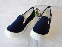 ★アキレス プチピオ 20cm C401 ネイビーEE 子供靴ズック