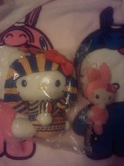 セール☆キティ☆ぬいぐるみ&マスコットセット☆ウサギ☆リボン☆ピンク☆