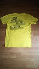 ☆ロッキンジャパン 2011TシャツL 黄色黒★