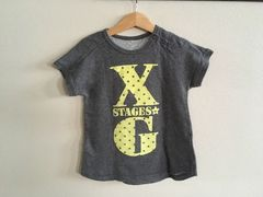 x-girl☆グレーワンピース☆95cm