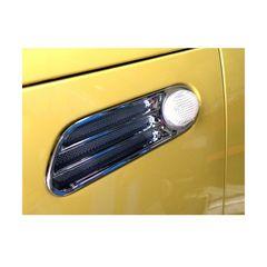 BMWミニ クロームメッキサイドマーカーカバー MINI R50 R52 R53 横