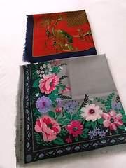 新品 スカーフ2枚 MAID IN JAPAN ウール100%