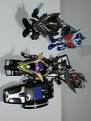 仮面ライダー フィギュアキーホルダー バイク