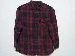 即決!USA古着●SAINTS AND MORTALSチェックデザインネルシャツ!