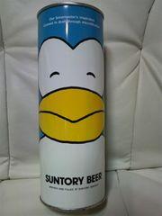 貴重当時モノ サントリー ビールペンギン缶83'